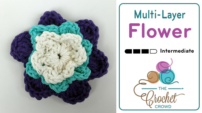 Crochet Multi Layer Flower Pattern