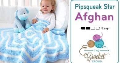 Crochet Pipsqueak Star Afghan