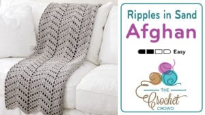 Crochet Ripples in the Sand Afghan