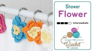 Crochet Shower Flowers