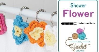 Crochet Shower Flowers