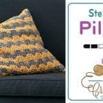 Crochet Step Up Pillow + Tutorial