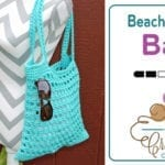 Crochet a Beachy Keen Tote Bag