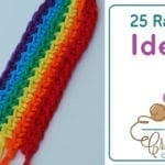 25 Crochet Rainbow Pattern Ideas