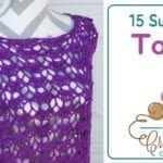 15 Crocheted Summer Tops