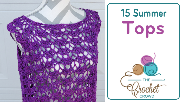 Crocheted Summer Tops