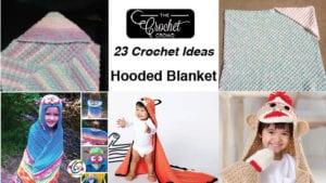 23 Crochet Hooded Blankets
