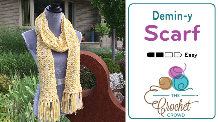 Easy Crochet Wool Scarf Pattern + Tutorial