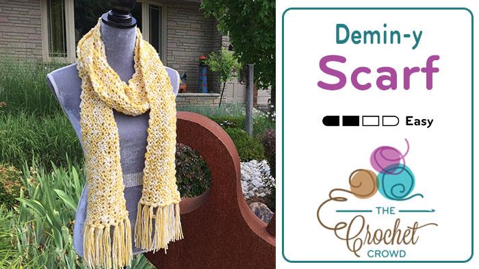 Easy Crochet Wool Blend Scarf Tutorial The Crochet Crowd
