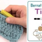 Bernat Blanket Yarn Tips and Tricks + Tutorial