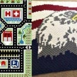 Corner to Corner (C2C) Graph Maker for Afghans and Scarves