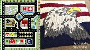 Crochet Corner to Corner Graph Maker