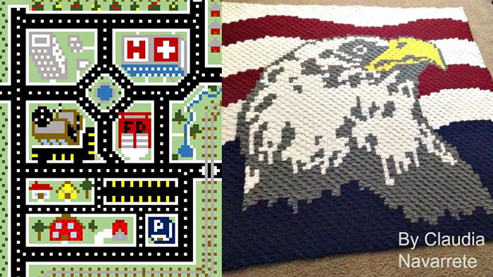 C2C Graph Maker for Afghans | The Crochet Crowd