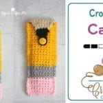 Crochet Pencil Case... Cutest Ever