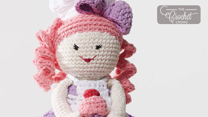 Amigurumi Lilly Doll with Bunny Hat Free Crochet Pattern in 2020 ... | 394x700