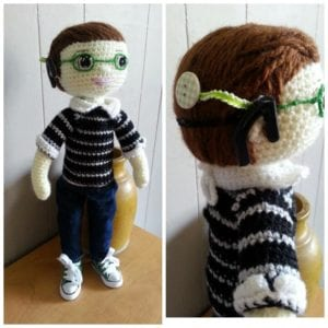 Feel Better Friends Crocheted Dolls