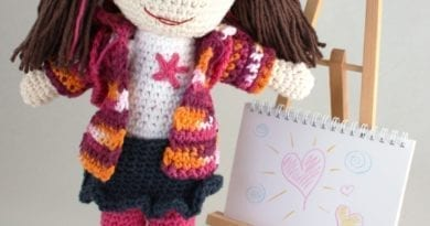 Crochet Lily Doll