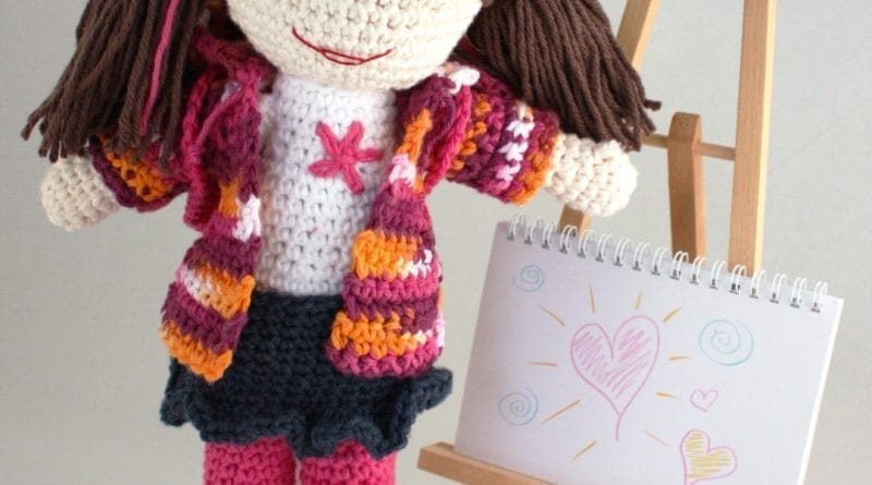 2151379dc Crochet Just For Her Dolls - Meet Lily   Friends