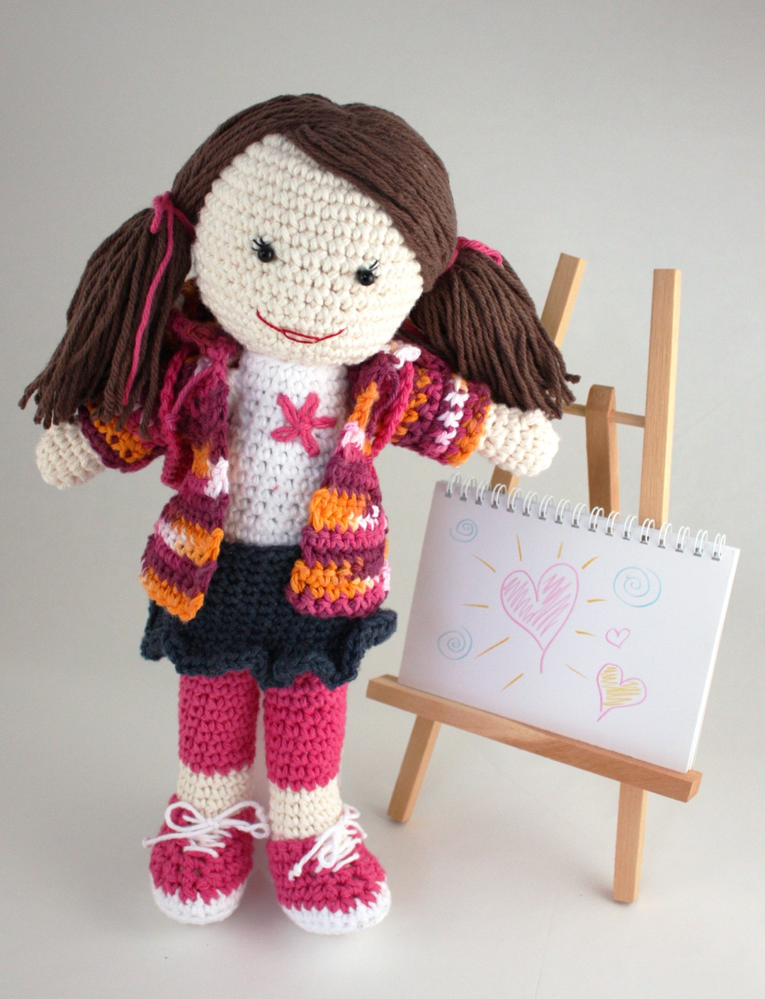 Crochet just for her dolls meet lily friends the crochet crowd dt1010fo