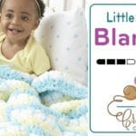 Crochet Little Lovely Baby Blanket + Tutorial