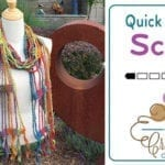 Crochet Quick and Easy Scarf + Tutorial