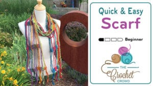 Crochet Quick and Easy Scarf