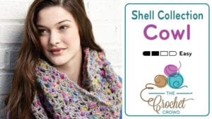 Crochet Shells Collection Cowl