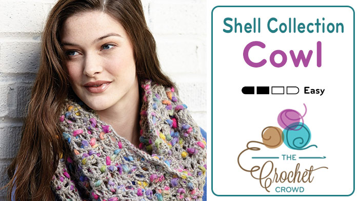 Crochet Shells Collection Cowl Pattern