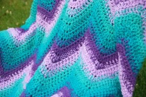 Sweet Memories Blanket crocheted by Jeanne Steinhilber