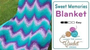 Sweet Memories Blanket crocheted by Jeanne Steinhilber