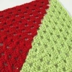 2 Colour Granny Square Afghan