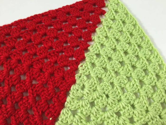 Crochet 2 Colour Granny Squares For Afghans Tutorial The Crochet