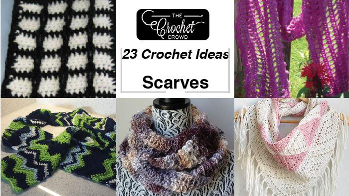 23 Crochet Scarf Pattern Ideas The Crochet Crowd