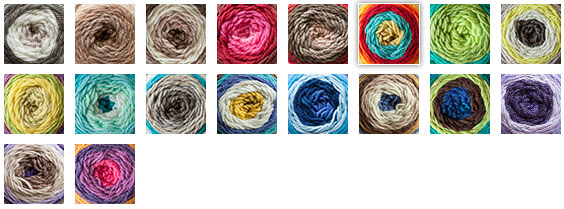 Caron Cakes Yarn Choices