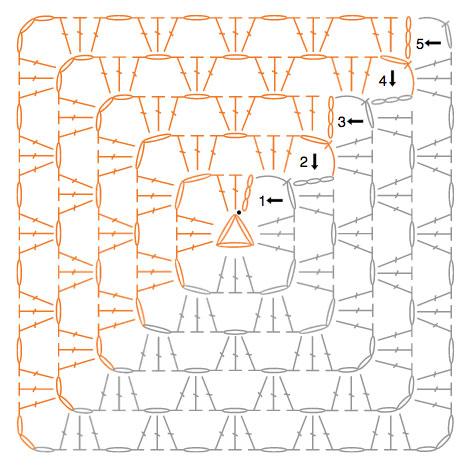 http://www.yarnspirations.com/patterns/half-n-half-granny-blanket.html