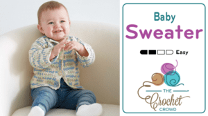 Easy Baby Cardigan Sweater