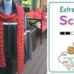 Crochet Extra Long Scarf + Tutorial