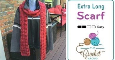 Crochet Extra Long Scarf Pattern