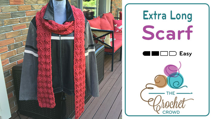 Crochet Extra Long Scarf Pattern
