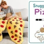 Crochet 🍕Pizza Snuggle Sack + Tutorial