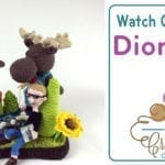 Moose on the Loose Crochet Diorama: Yarn Artistry