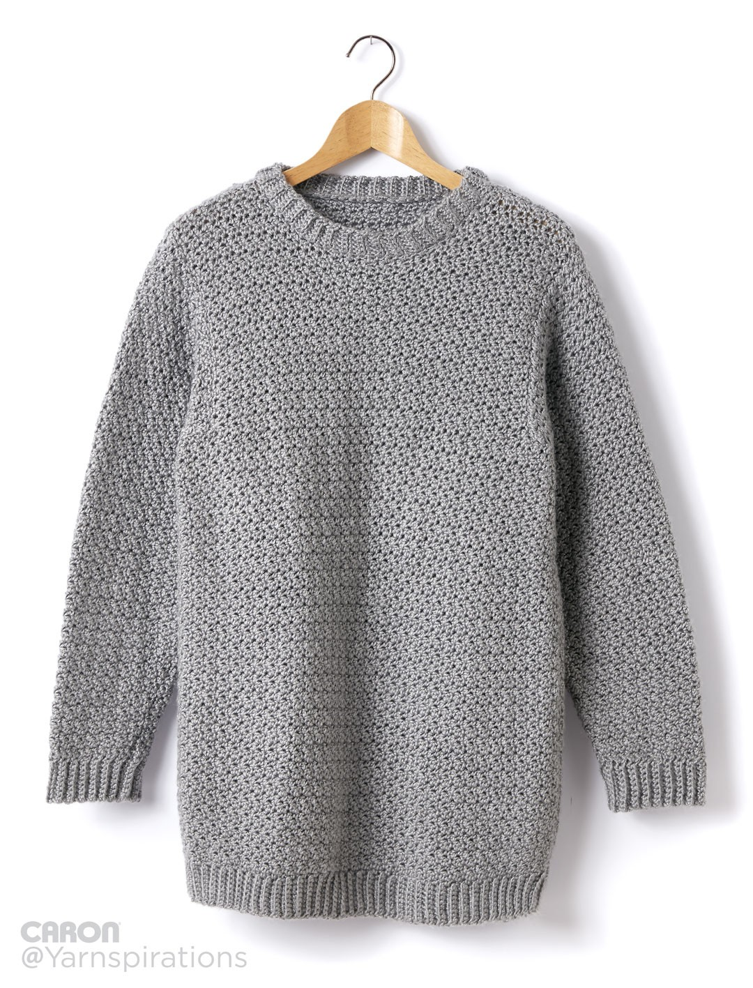 Crochet Men's Sweater
