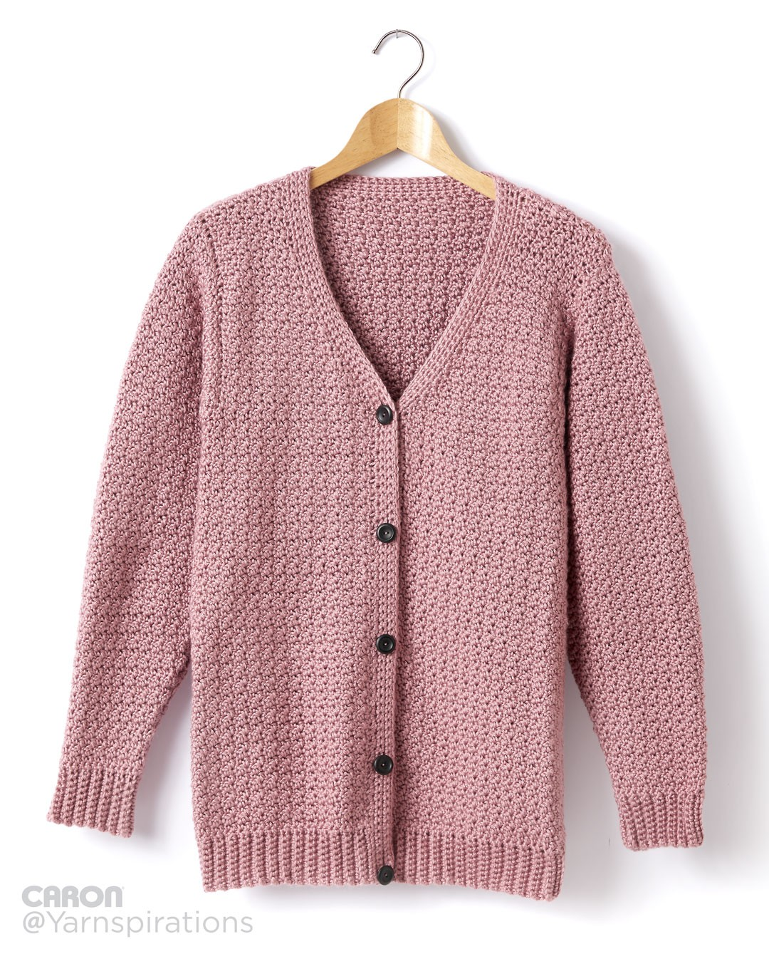 Crochet Plum Wine Cardigan Pattern