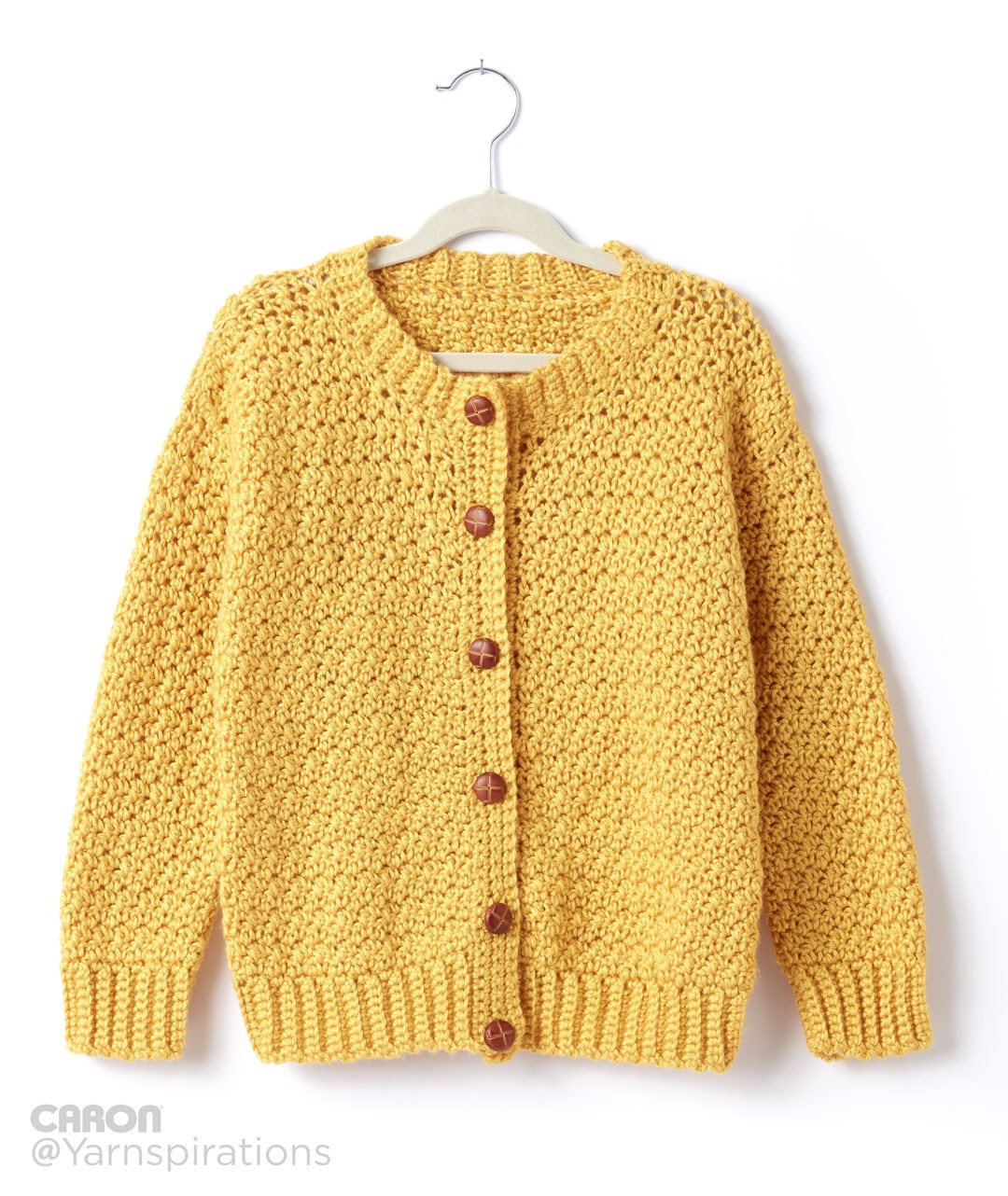 Child Size Crew Neck Cardigan
