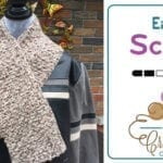 Crochet Easy Scarf + Tutorial