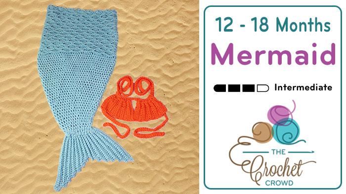 Crochet Baby Mermaid Tail Tutorial The Crochet Crowd