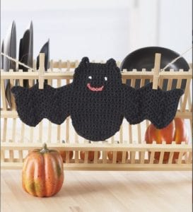 Bat Dishcloth by Yarnspirations