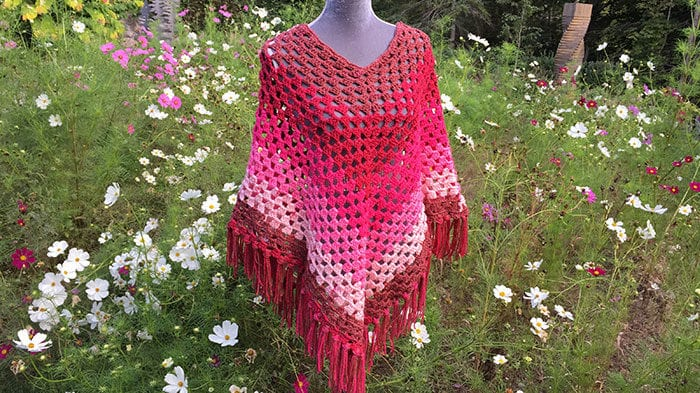 Cool Poncho by Mikey