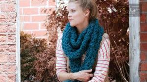 Crochet Crossing Paths Scarf