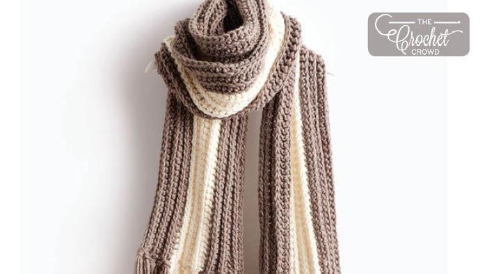 Crochet Highline Super Scarves Pattern
